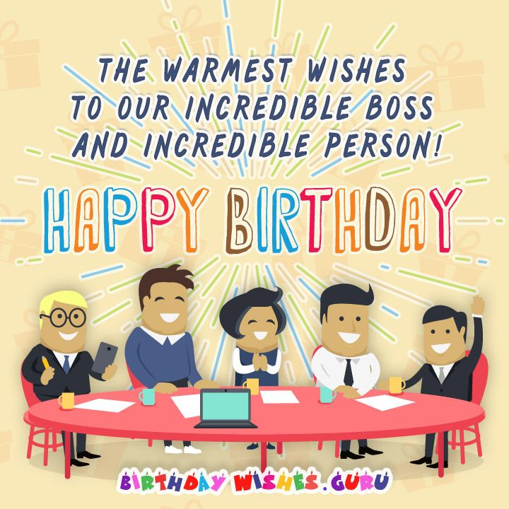 25+ Best Ideas About Birthday Wishes For Boss On Pinterest
