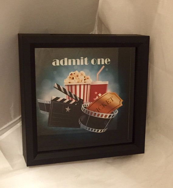 Movie Lover's Admit One or Admit Two Ticket by ReminisceInStyle