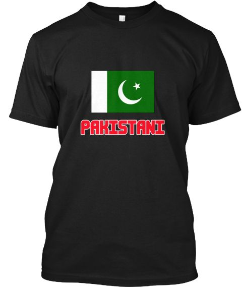 Pakistani Flag Design Black T-Shirt Front - This is the perfect gift for someone who loves Pakistani. Thank you for visiting my page (Related terms: I Heart Pakistan,Pakistan,Pakistani,Pakistan Travel,I Love My Country,Pakistan Flag, Pakistan Map,Pa #Pakistani, #Pakistanishirts...)