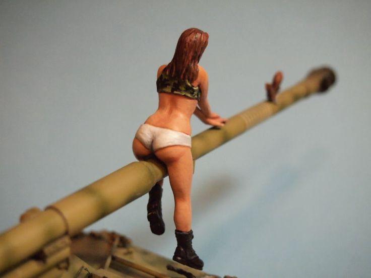 Euro Model News - Neuheiten-Portal für Sammler und Modellbauer | News » 1:35 Female Army Soldier Ver.5 Aurora