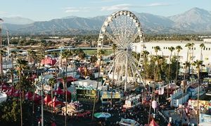 Groupon - 2014 Los Angeles County Fair Visit for Two or Four on August 29 Through September 28 (Up to 51% Off)  in Pomona. Groupon deal price: $20