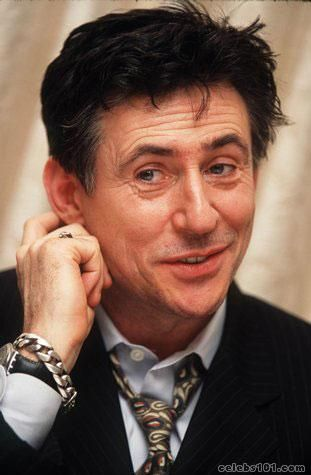 Gabriel Byrne. I've crushed on him for an intensely long time. Maybe since Hello, Again.