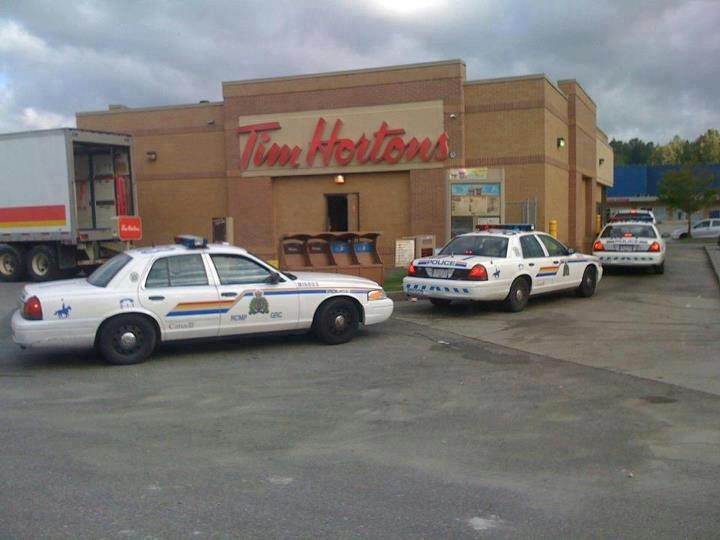 For you Americans and people from countries who may not know what Tim Horton's is, it's a doughnut shop.