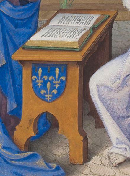 Horae ad usum Parisiensem.  Date d'édition :  1475-1500  Latin 1173  Folio 9v