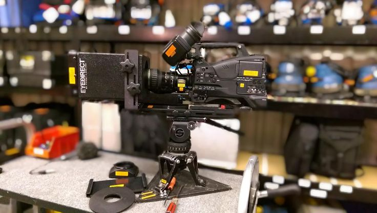 Eye Direct on a PMW-500 Camera for an Interview