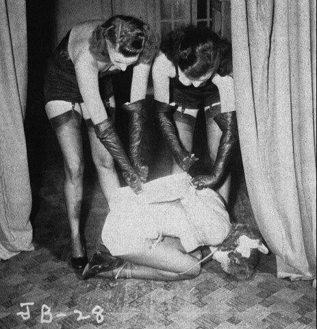 Irving claw three rare 1950039s bondage fetish stag films
