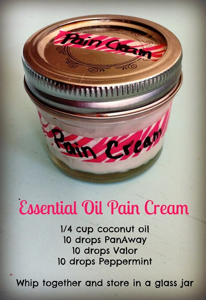 Essential Oil pain cream using Young Living essential oils http://www.theoildropper.com/amyhitchings/