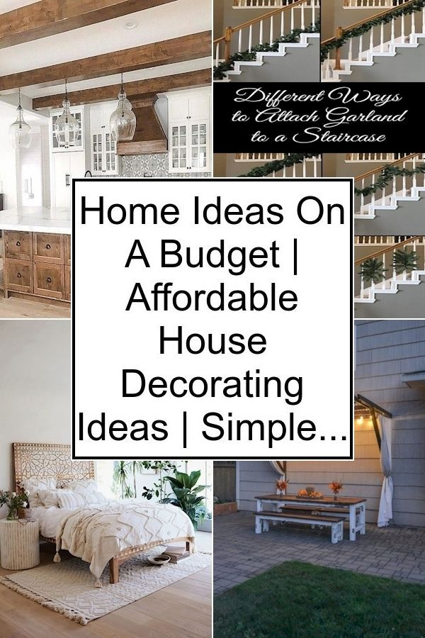 Cheap House Decor Ideas Inexpensive Room Ideas How To Decorate