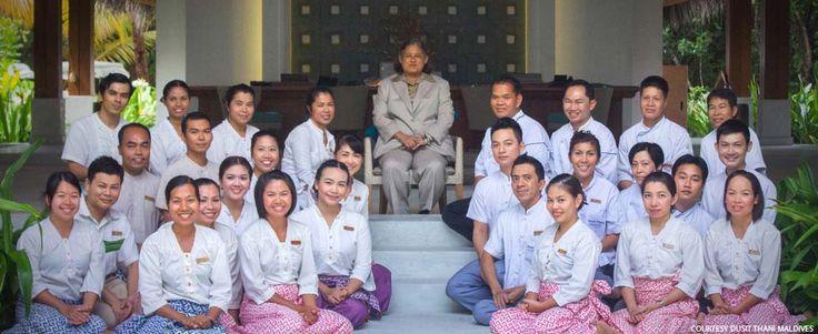 Princess Maha Chakri Siridhorn of Thailand visits Dusit Thani Maldives