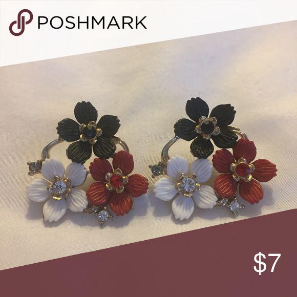 Flower Stud Earrings Flower Stud Earrings Jewelry Earrings