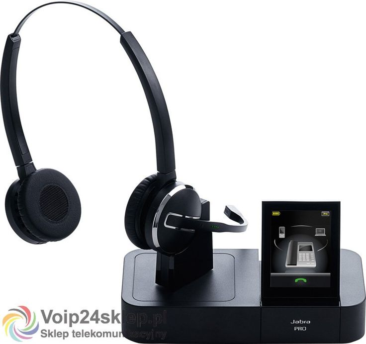 Słuchawki bezprzewodowe Jabra PRO 9460 Duo