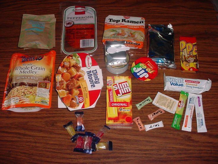Homemade Mre Food Ideas