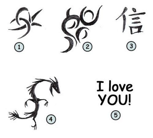 Simple Tattoos Design: Simple Cartoonj Tattoo ~ tattooeve
