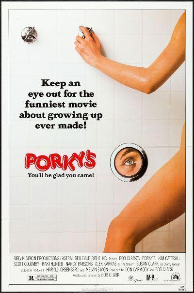 PORKY'S - 1982 - Original 27x41 Movie Poster - KIM CATTRALL, SUSAN CLARK