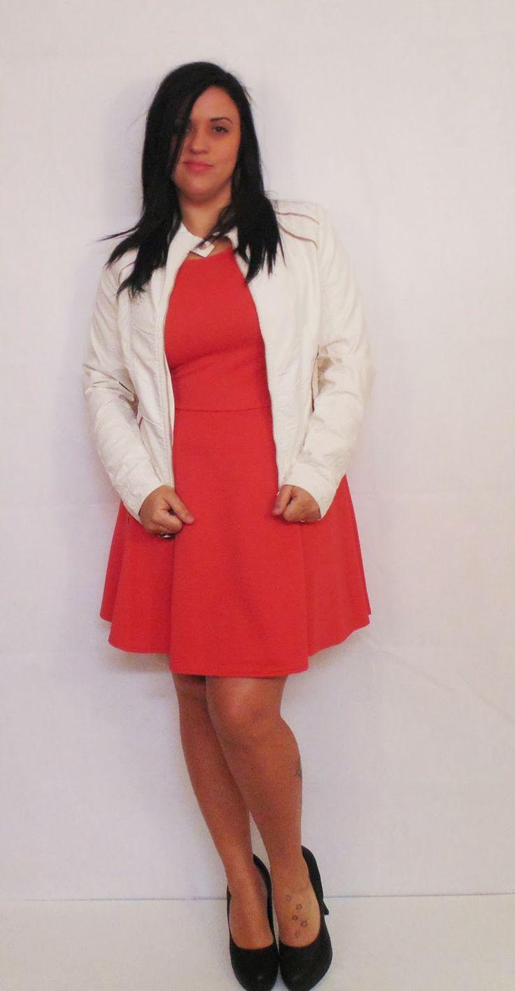 #BestFashionBloggers chaqueta blanca!