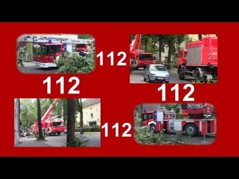 Gemeinsamer Einsatz Feuerwehr Gelsenkirchen und Feuerwehr Münster.