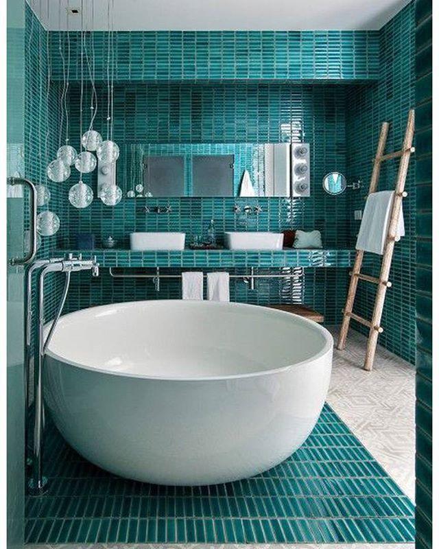 Очень красивая ванная