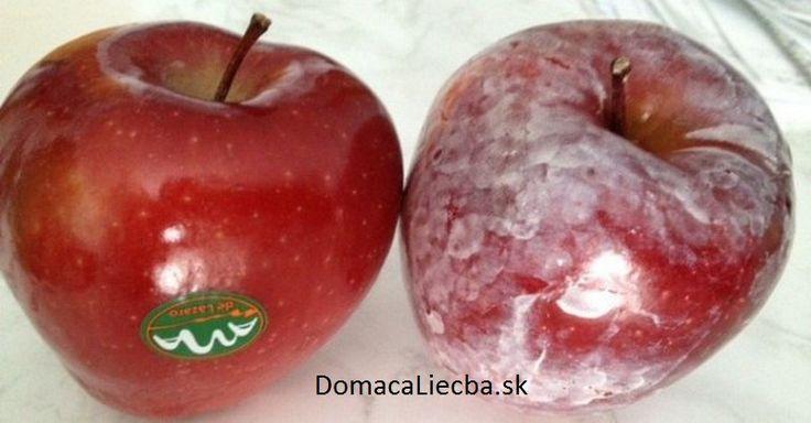 S týmto testom zistíte, či sú vaše jablká pokryté rakovinotvorným voskom