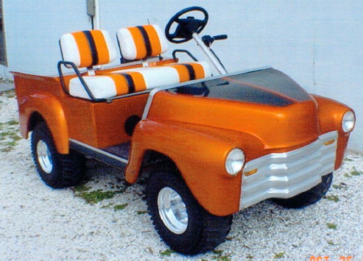 47 Old Truck Custom Golf Cart Body Kit Yamaha Or Club Car