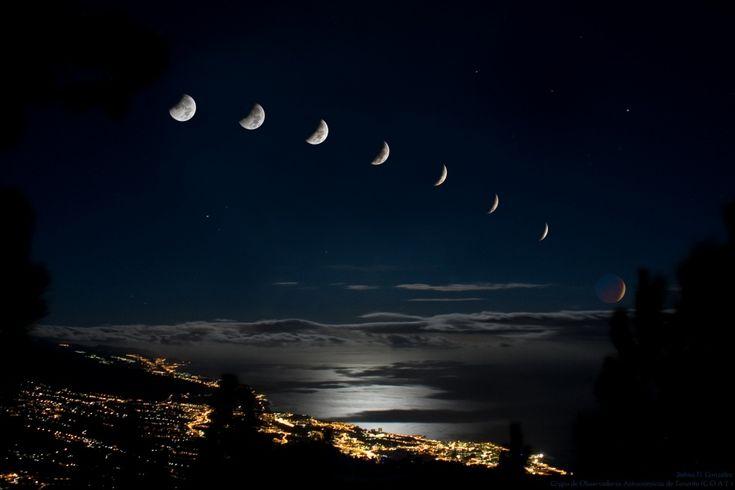 Lunar Eclipse, Tenerife, Canary Islands