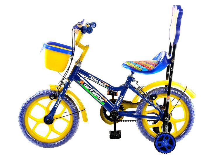 Outdoor Bikes Blue Yellow
