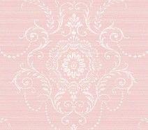 Soft Pink Damask Wallpaper Love The Bigger Pattern