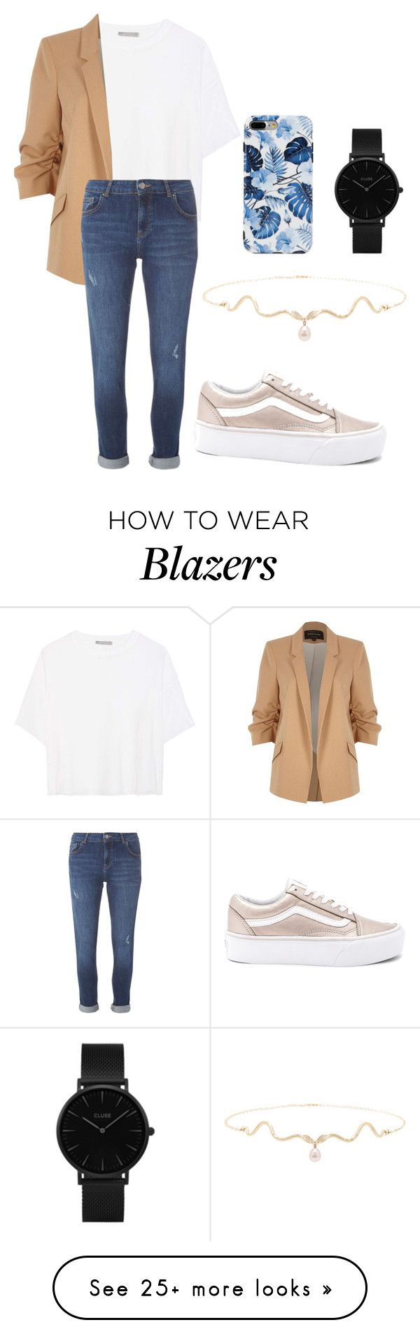 """Untitled #859"" by hodandahir on Polyvore featuring Vans, Vince, River Island, Dorothy Perkins and CLUSE"