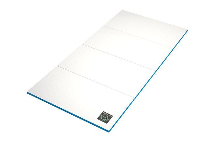 Folding Play Mat - Blue Edge - CreamHaus USA - Premium Baby Play Mats