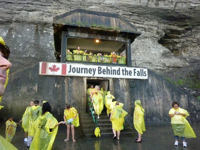 Journey Behind the Falls by navema, via Flickr » Maids of the Mist, definitely a fun experience! Have you been?