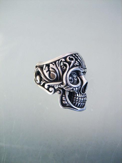 #anillo #ring #calavera #skull #gothic