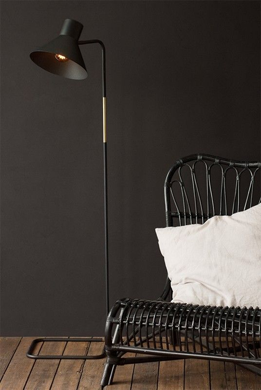 Desk / table lighting with elegant style for your home or office. Get yours at NoteMaker.com.au.  Buy Telegram Co - Dark & Stormy Collection - Floor Lamp - The Maiden by Telegram Open House from NoteMaker.com.au & receive FREE shipping on Aust orders over $99 & I/N orders over $199