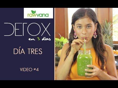 DETOX de Jugos en 3 dias- Jugo 3, Dulce Sensacion -3 day Juice detox, Day 3