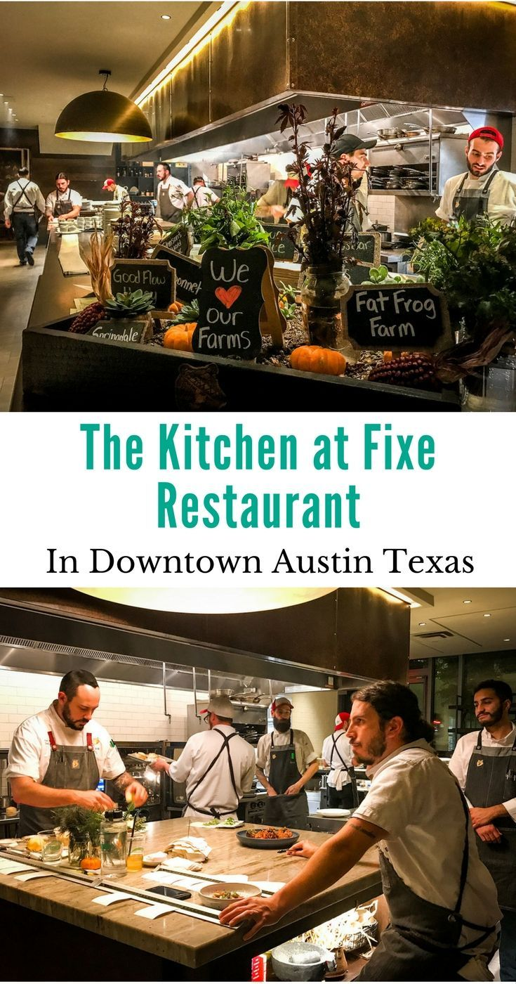 Fixe Restaurant Southern Charm in Austin Texas