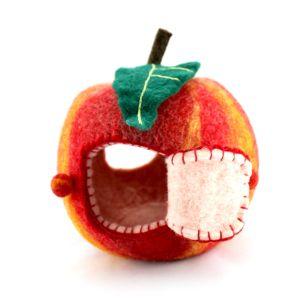 in meinen Apfelhäuschen wohnen Zwerge, Waldgeister, Apfelkernchen und Wurzelkinder