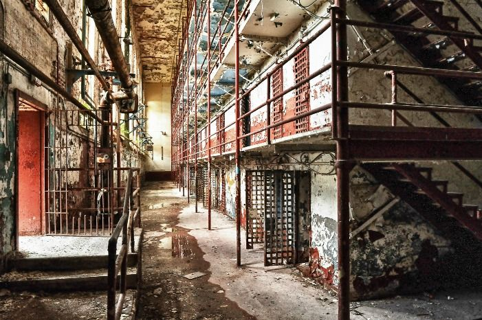 Tn Tennessee State Prison Opened In 1898 Closed In