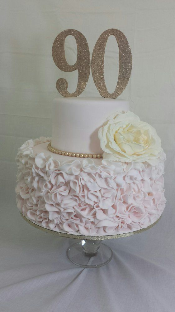 Cake Decorating Ideas For A 90 Year Old : Best 25+ 90th birthday cakes ideas on Pinterest