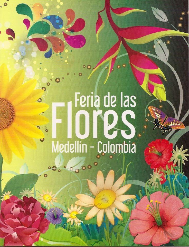 """Marca postal: """"Feria de las Flores. Medellín, Colombia"""" – Afitecol ..."""