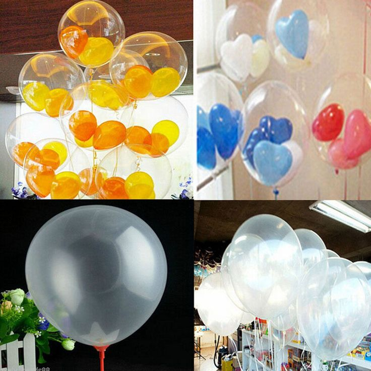 Wholesale 50Pc Transparent Latex Balloons Birthday Wedding Party Decor Clear