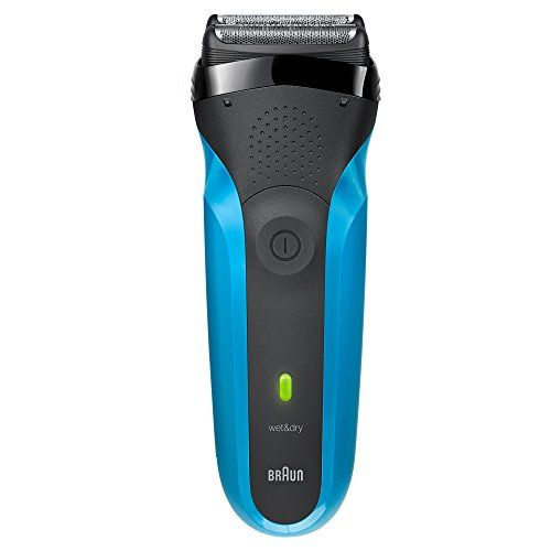 Braun Series 3 310s Wet & Dry Electric Shaver for Men / Rechargeable Electric Razor, Blue. For product & price info go to:  https://beautyworld.today/products/braun-series-3-310s-wet-dry-electric-shaver-for-men-rechargeable-electric-razor-blue/