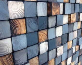 Wall Art or Wood Sculpture King Headboard