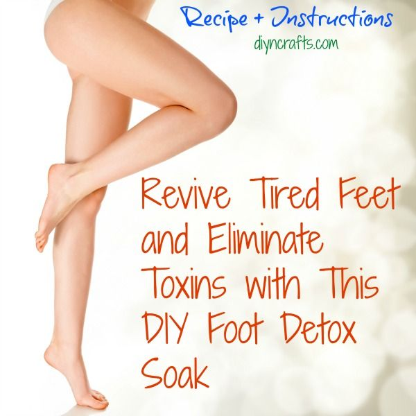 Detox baths are great for helping you to look and feel healthier. Foot detox is also a great idea to help revive tired feet. Particularly now since summer is officially in full swing, keeping your feet healthy is a must especially if you tend to go out in sandals, flip-flops or even barefoot.