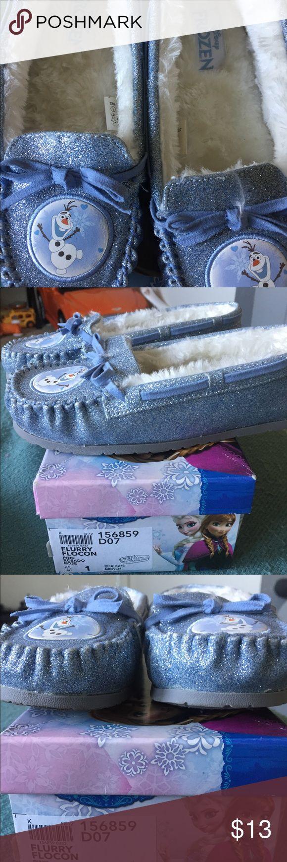 Disney frozen shoes Flurry sparkle light blue shoes Disney Shoes Sneakers