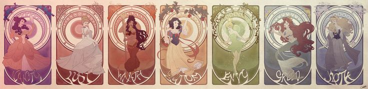 Seven deadly Disney Princesses | OBSESSION: fairy tales ...