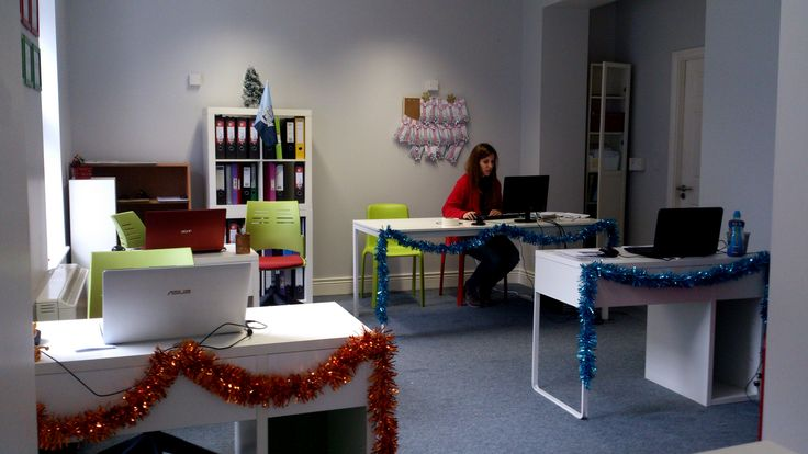 Our office in Dublin! #ChristmasIsComing #EazyCity #Dublin