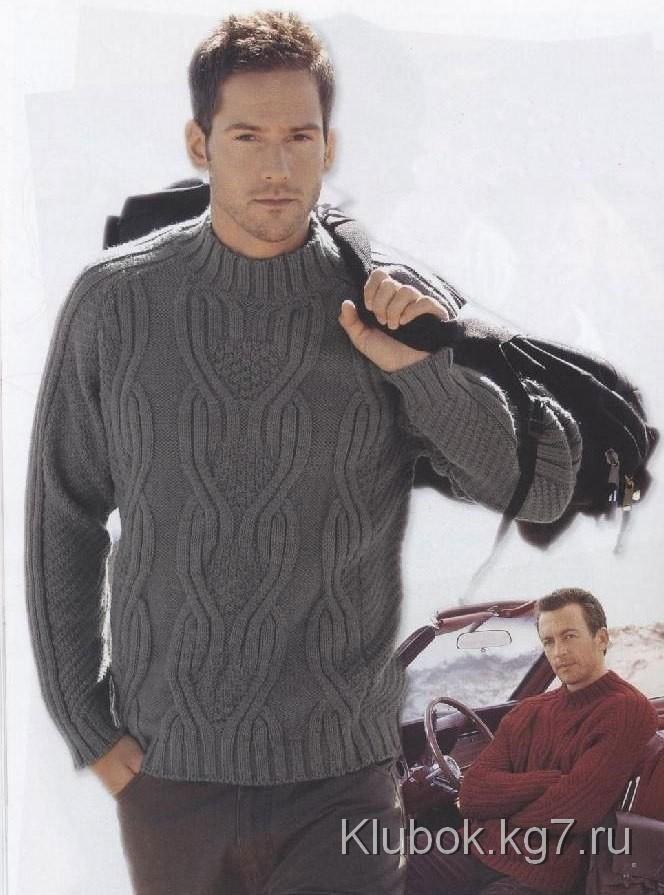 Мужской свитер | Клубок