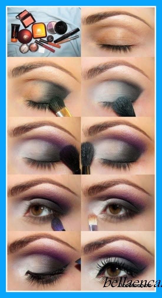 Maquillajes de ojos para fiesta paso a paso - Paperblog