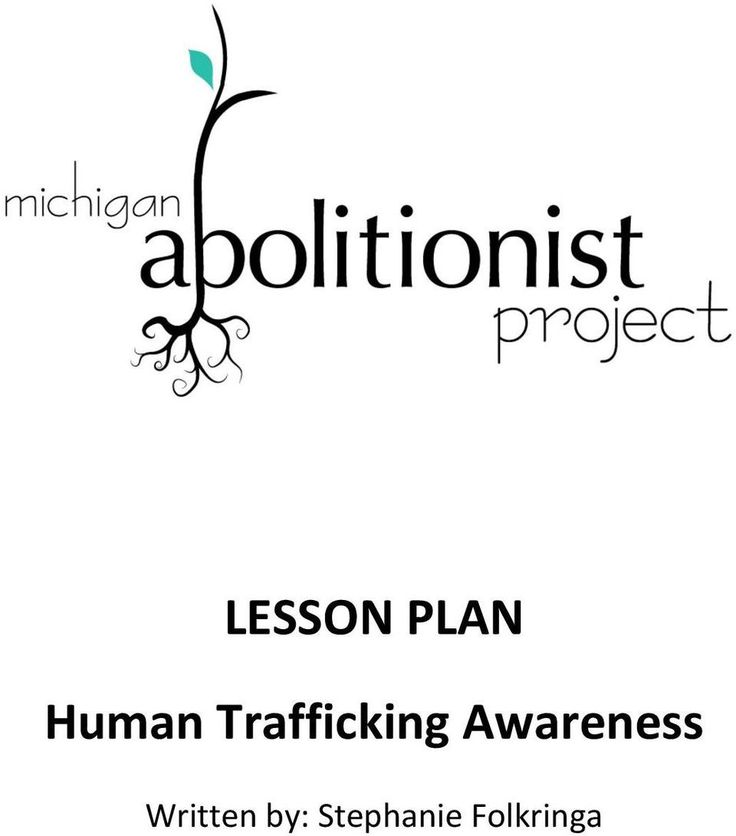 7 best Slavery and Human Trafficking Prevention Month