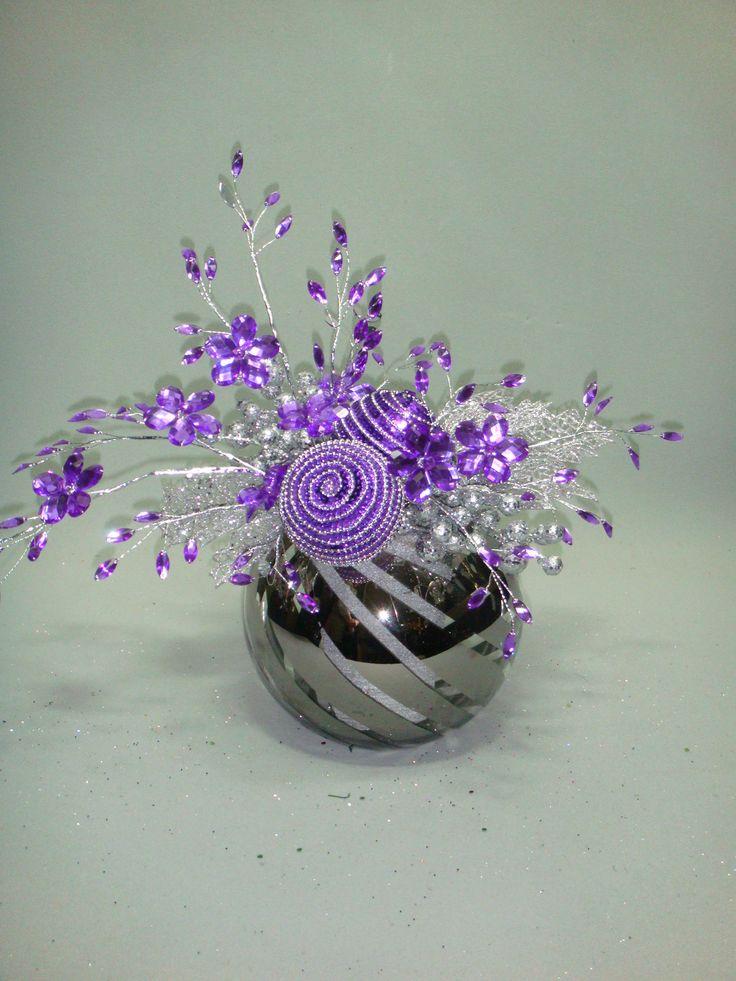 Purpura !!! un color de moda que tambien puede ser utilizado en navidad