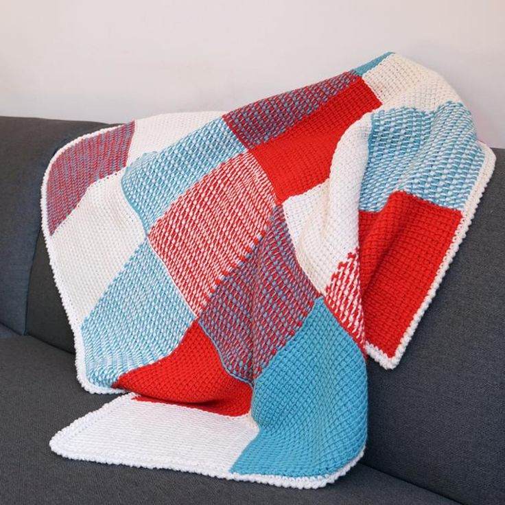 1000+ ideas about Tunisian Baby Blanket on Pinterest Tunisian crochet stitc...