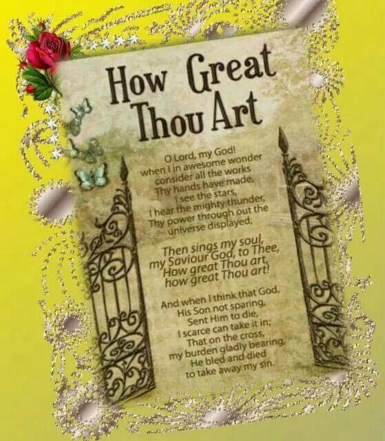how great thou art pdf a